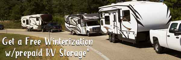 RV Storage at Route 66 RVS